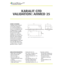 KARALIT CFD Validation: Ahmed 25