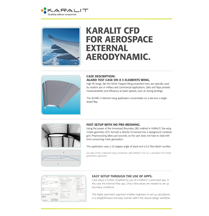 KARALIT CFD for Aerospace