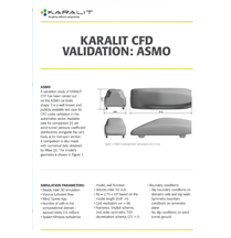 KARALIT CFD Validation: Asmo