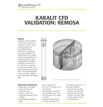 KARALIT CFD Validation: Remosa